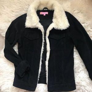 Jackets & Blazers - Black corduroy jacket